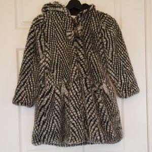 American Widgeon faux fur Girls jacket